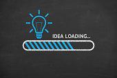istock Loading Idea on Blackboard 958648176