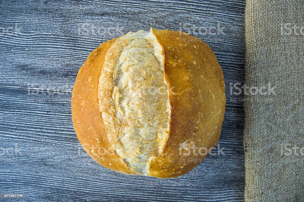 Loaf Bread Varieties Different Types Of On Wooden Floor Royalty Free Stock Photo