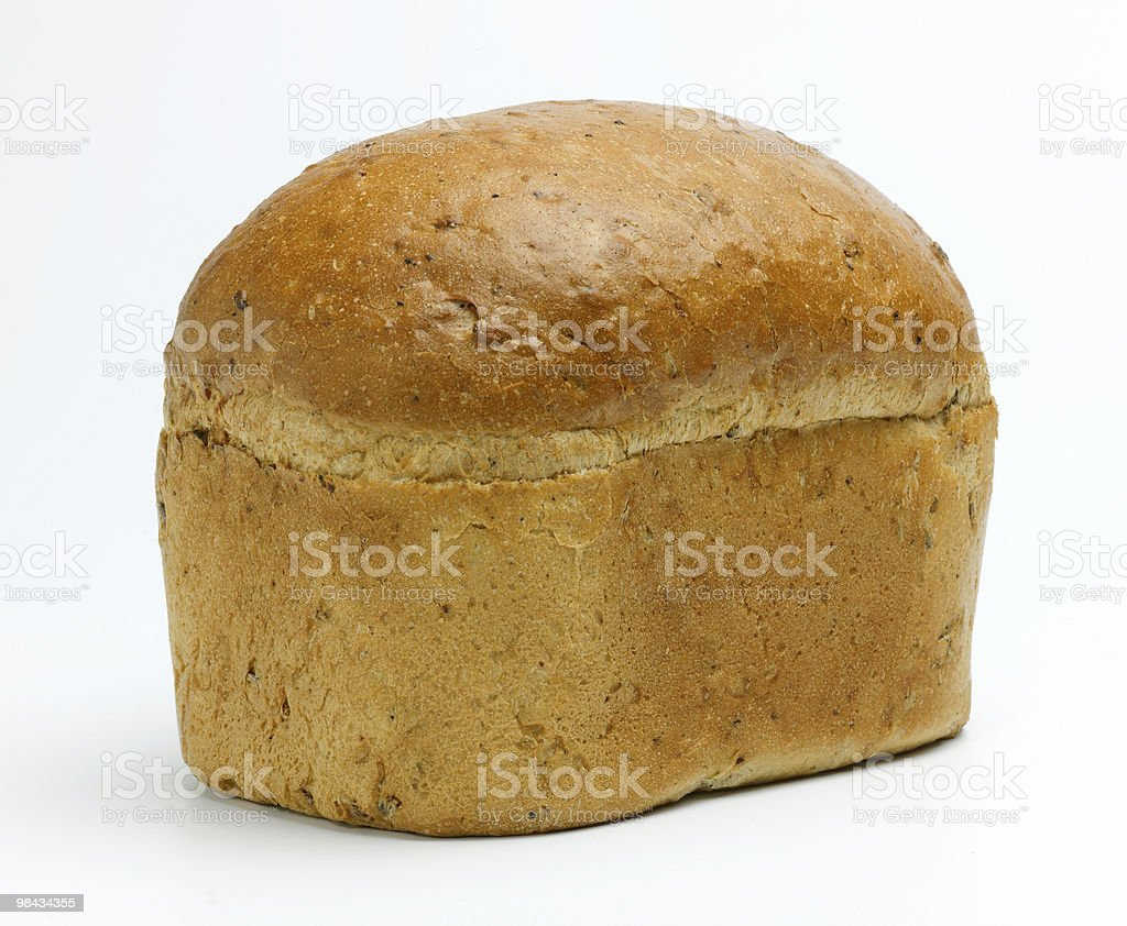 Loaf of Brown Bread royalty-free stock photo