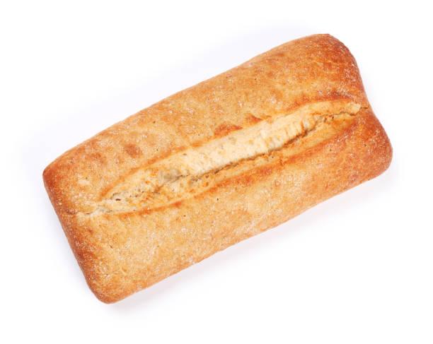 피 각 질의 ciabatta 빵 덩어리 - 치아바타 빵 뉴스 사진 이미지