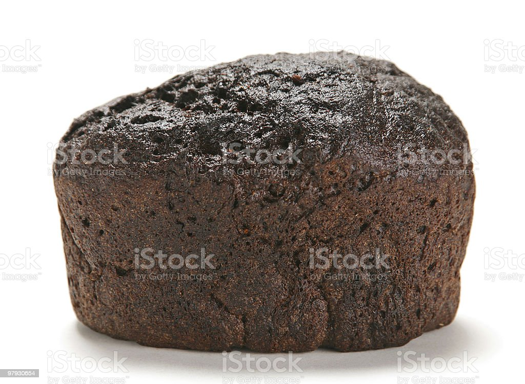 Loaf of rye bread royalty-free stock photo