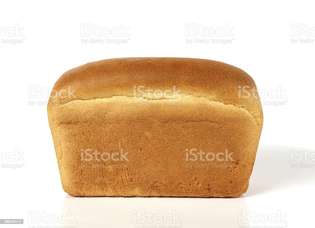 Loaf of white bread royalty-free stock photo