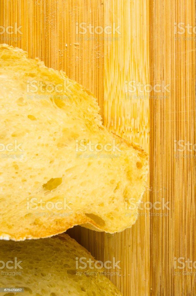 Beyaz buğday ekmek royalty-free stock photo