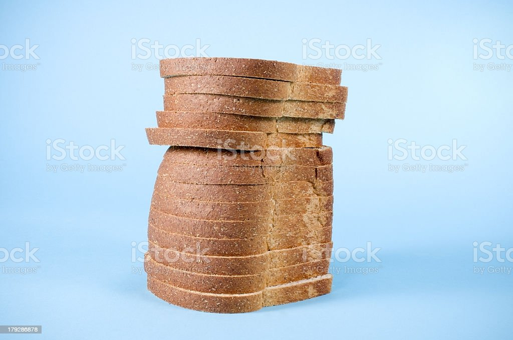 Loaf of Whole Wheat royalty-free stock photo