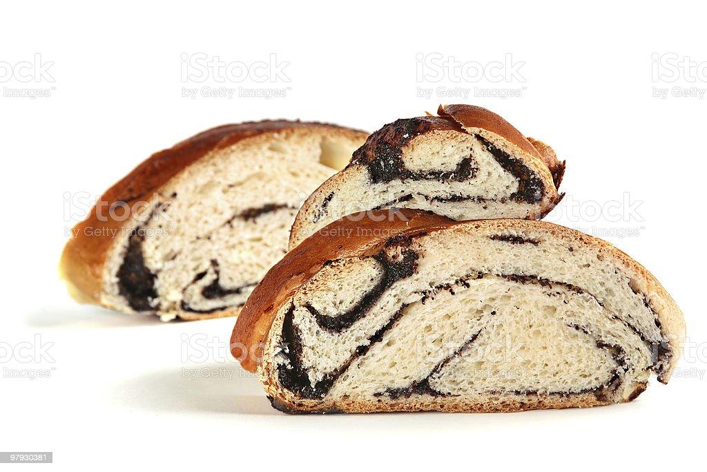 Loaf slace royalty-free stock photo