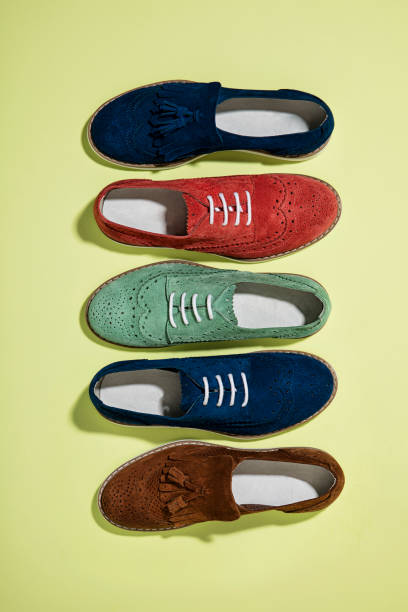 Loafer isoliert auf weißem Hintergrund – Foto
