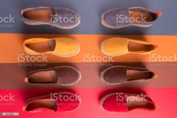 Loafers on multicolor background top view four pair picture id697217888?b=1&k=6&m=697217888&s=612x612&h=sbbujiidiqvqf8glnwzwssjlhk5hgh2zc8ygjkqtl3y=