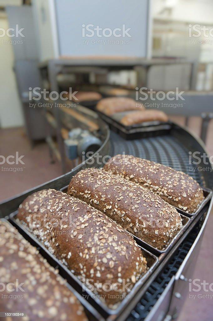 Brot Loafs in der Fabrik – Foto