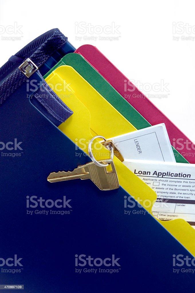 loan application kit royalty-free stock photo
