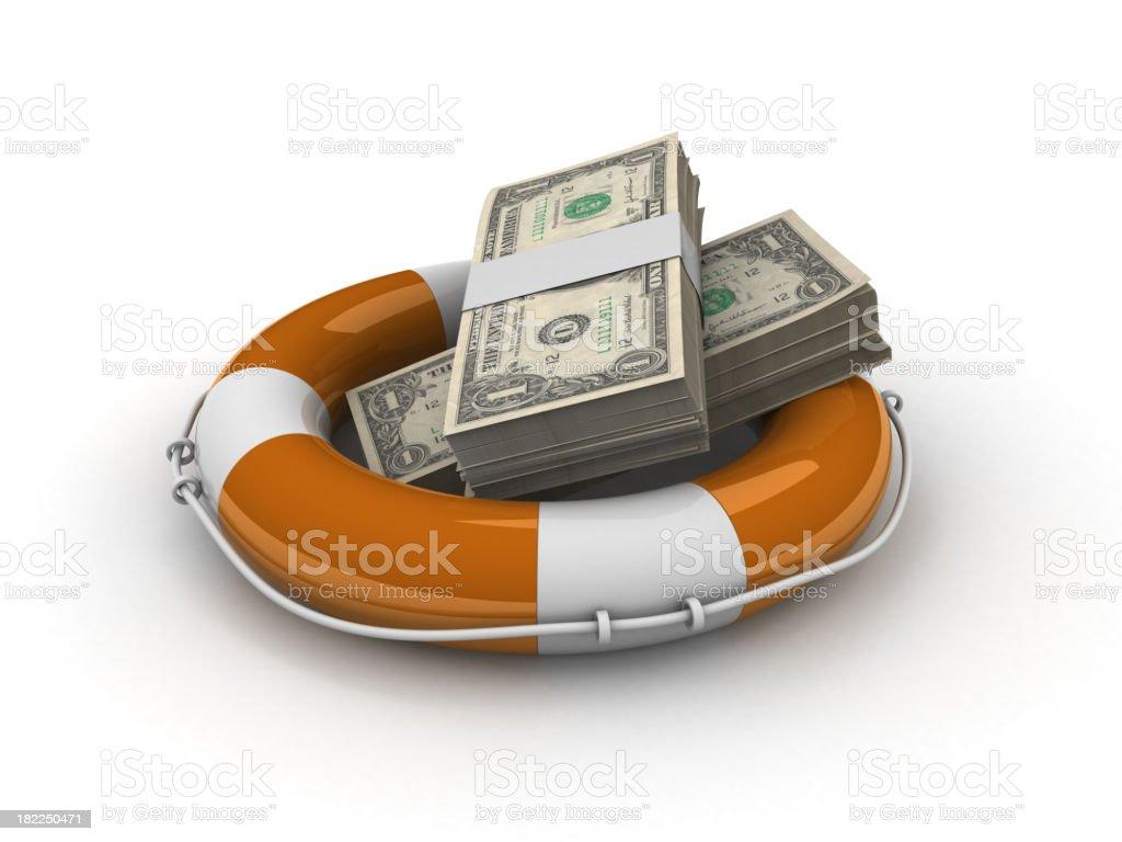 Loan help royalty-free stock photo