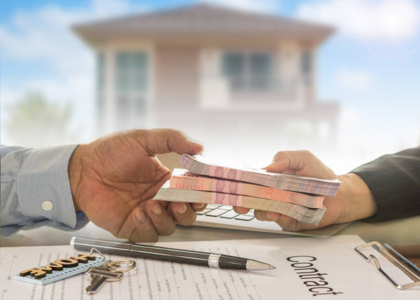 prêt hypothèque approuvée - prêts immobiliers et crédits photos et images de collection