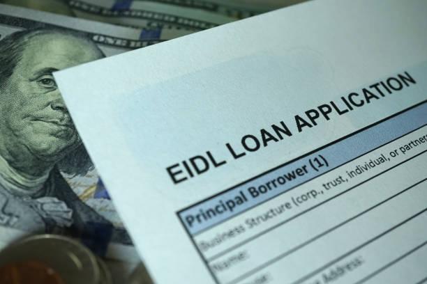 Cтоковое фото EIDL loan