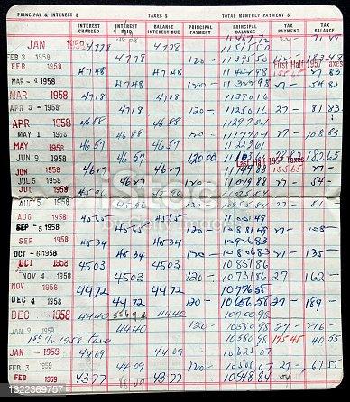 istock Loan Repayment Book 1958 1322369757