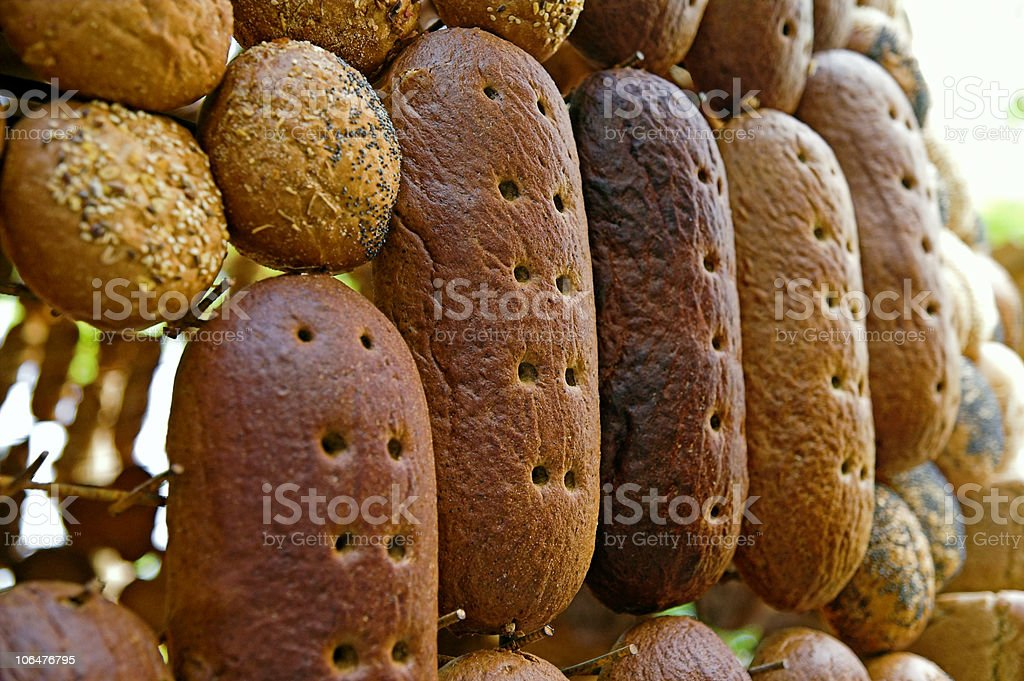 Loaves of bread stock photo