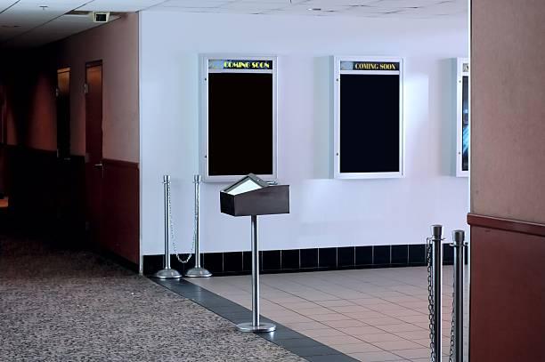 der lobby - filmplakate stock-fotos und bilder