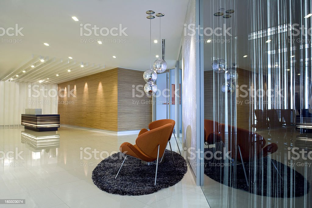 Lobby Reception & Waiting Area stock photo
