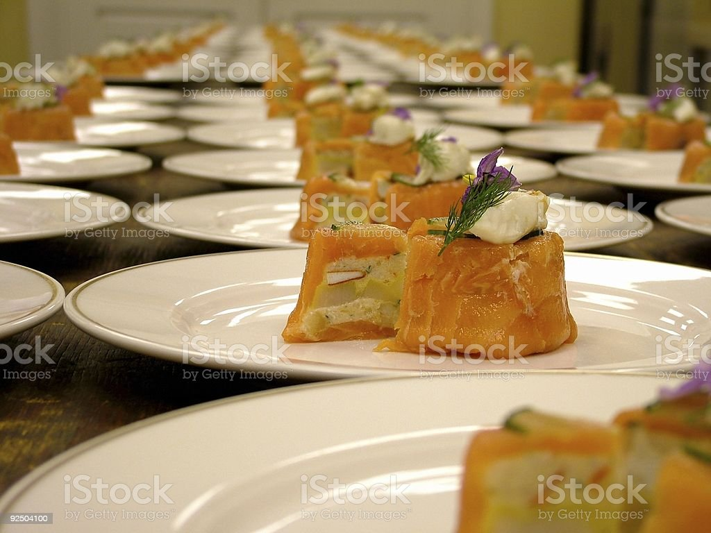 Lobster Appetizer royalty-free stock photo