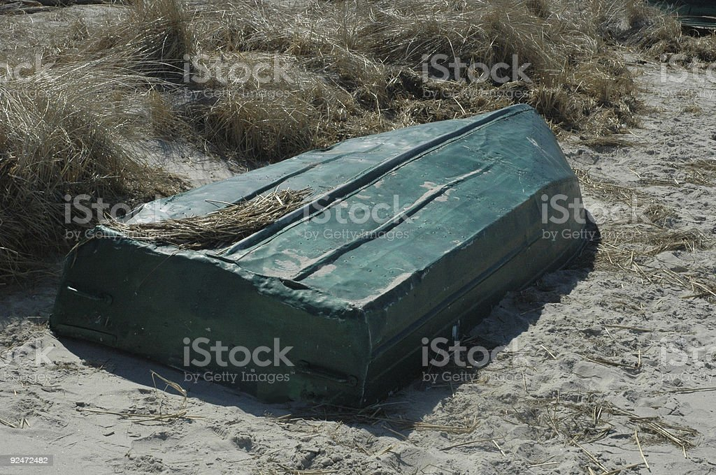 Lobster Boat Dinghy royalty-free stock photo