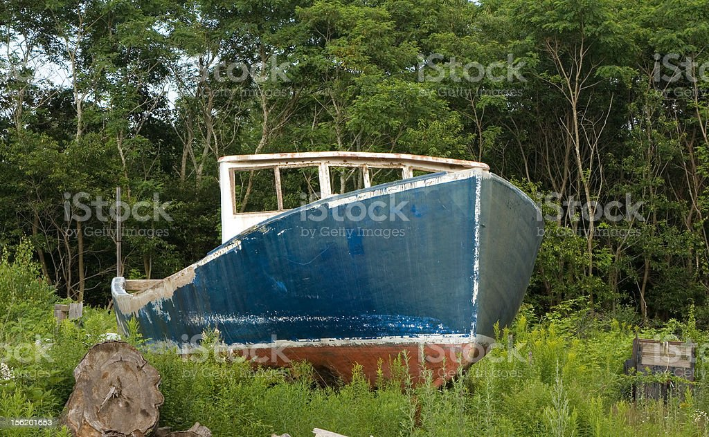Lobster Boat – Seen Better Days stock photo