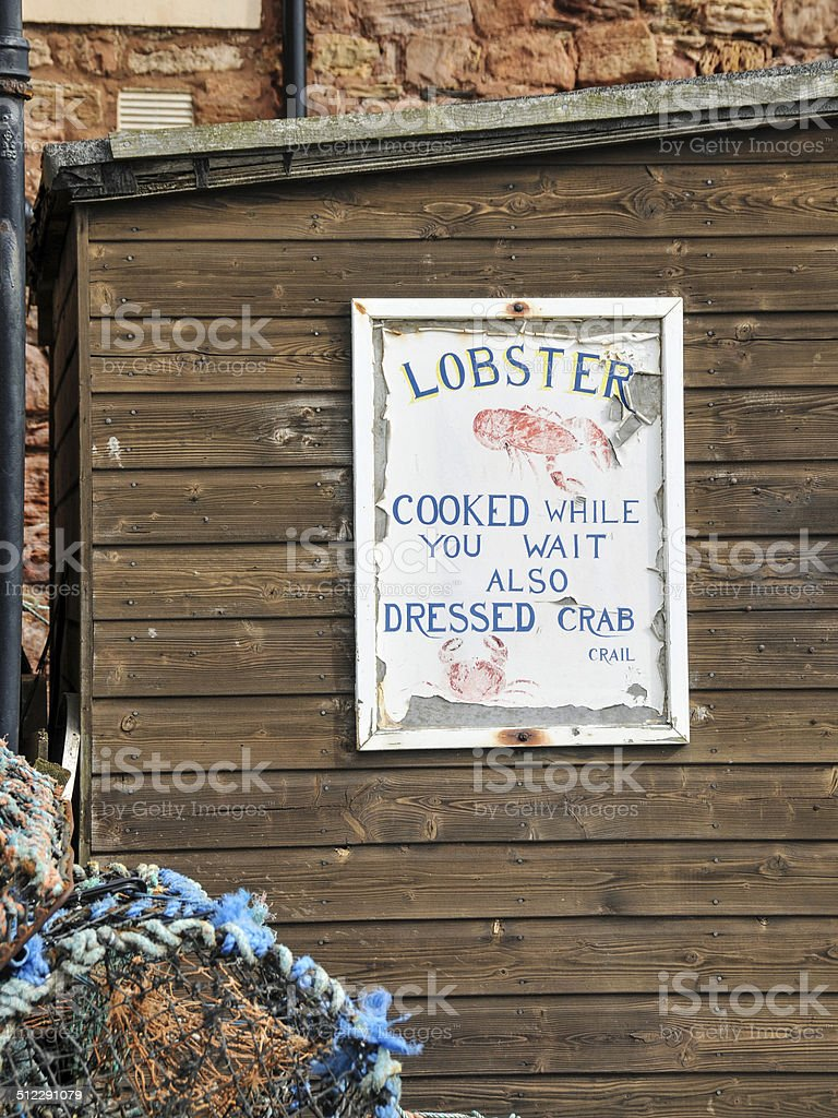 Lobster for Sale stock photo