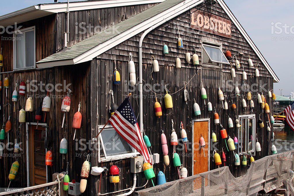 Lobster House royalty-free stock photo