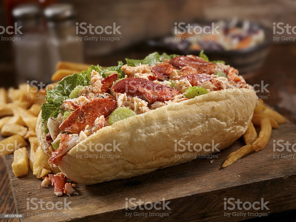 Lobster Roll royalty-free stock photo