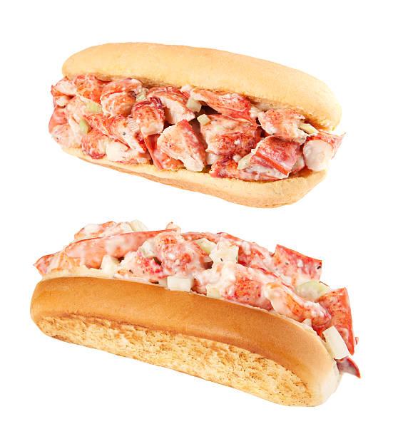 Lobster rolls stock photo