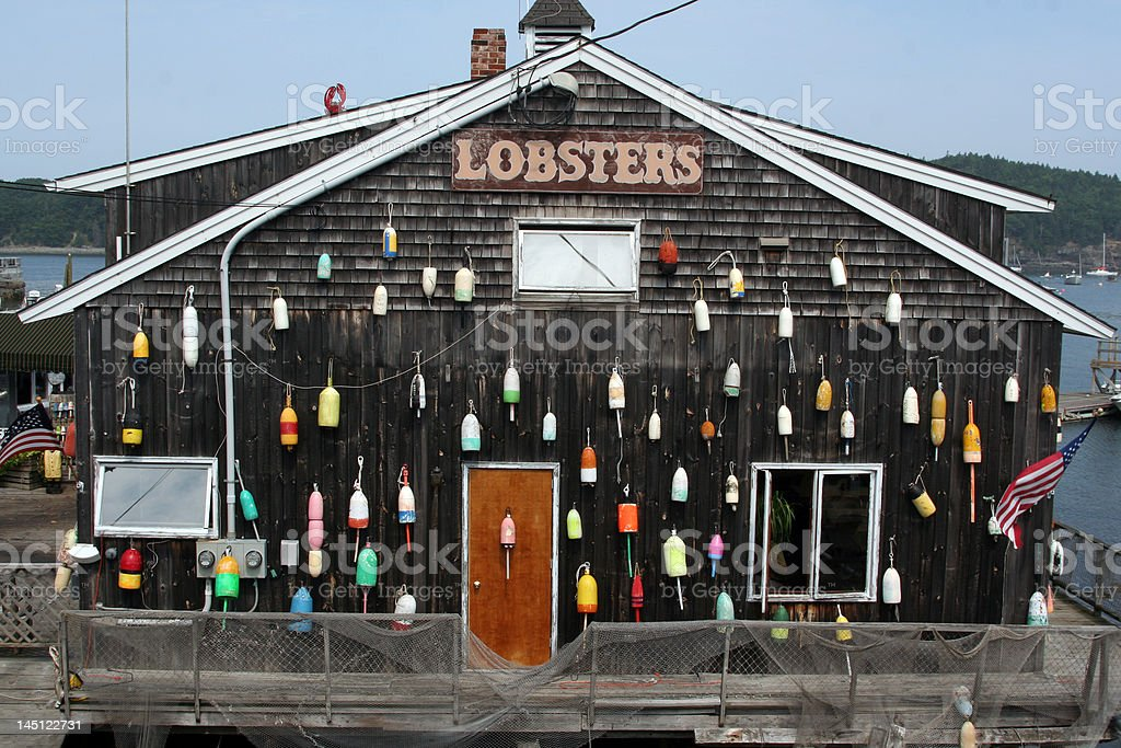 Lobster Shack stock photo