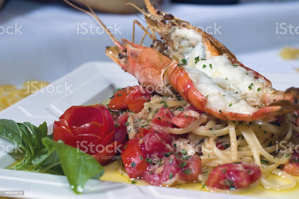 Lobster Tail royalty-free stock photo
