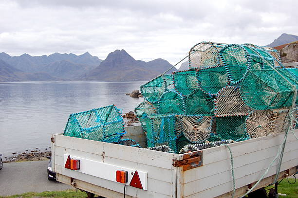 Lobster Traps on the Isle of Skye