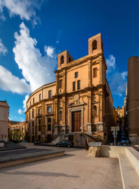 Local Architecture In Agrigento stock photo