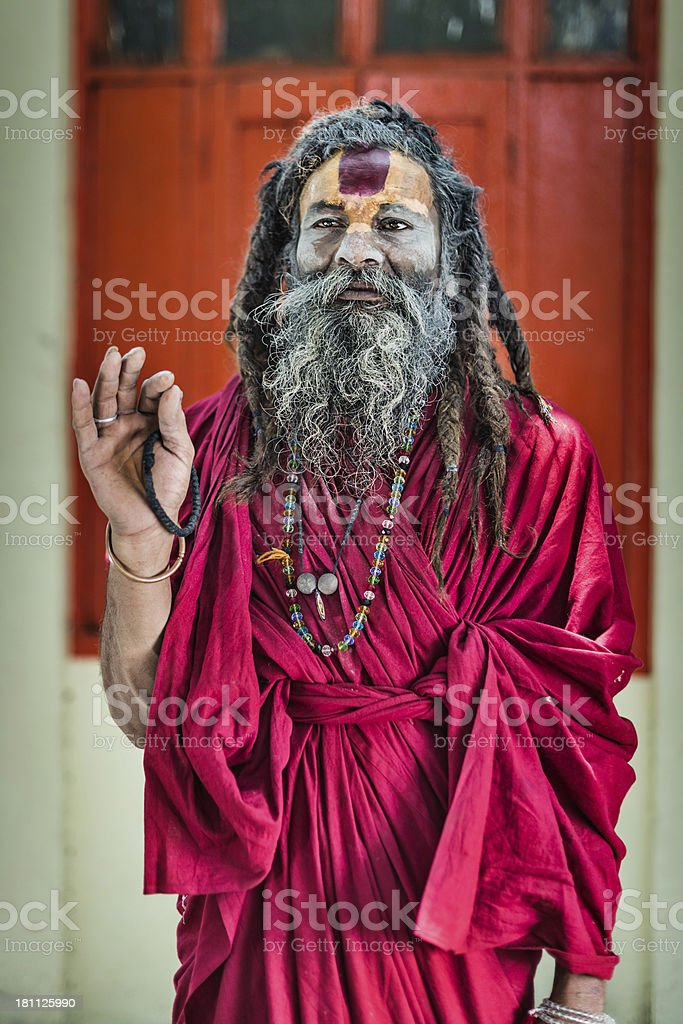 Local guru royalty-free stock photo