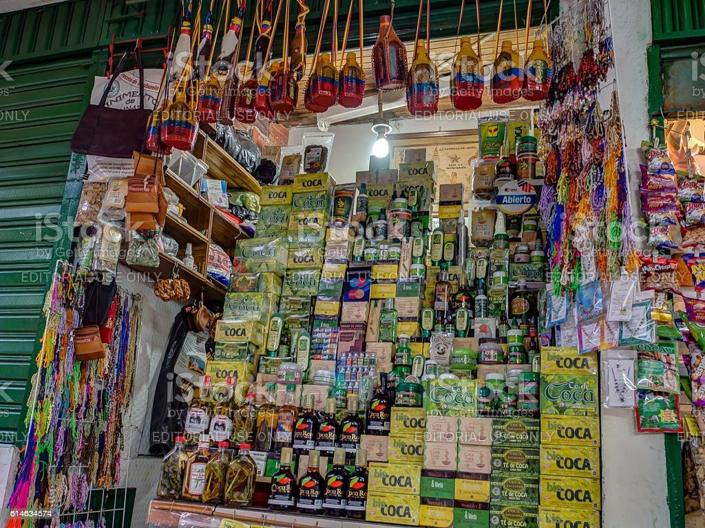 local market stock photo