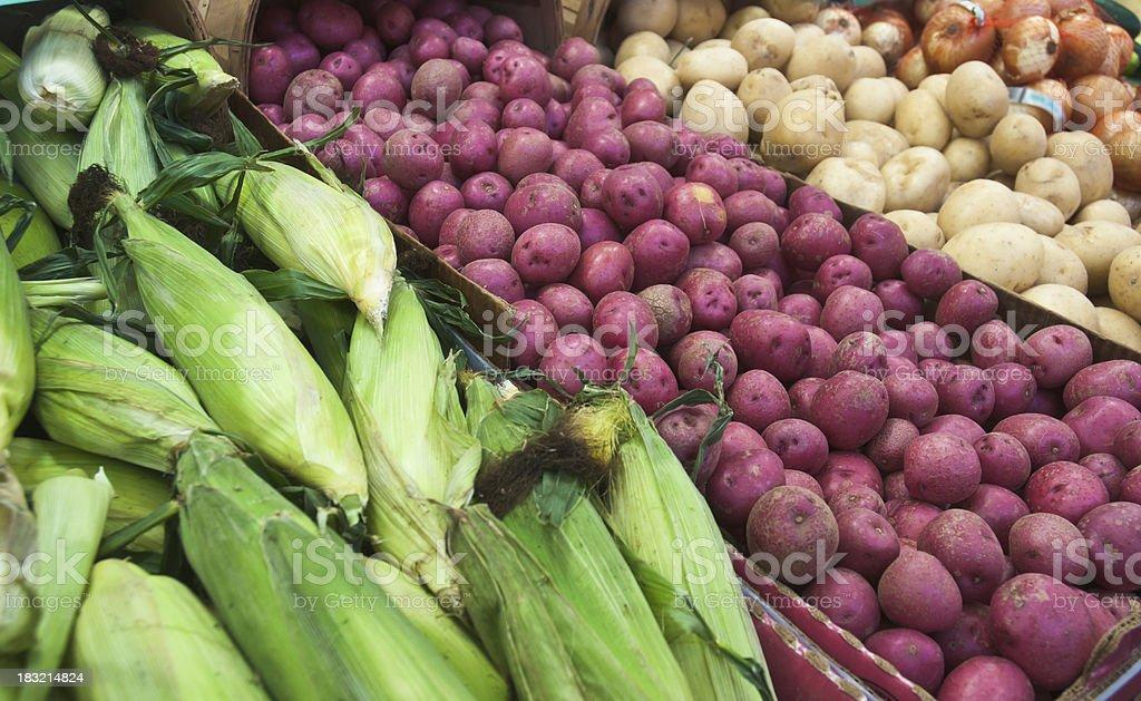Local Produce royalty-free stock photo