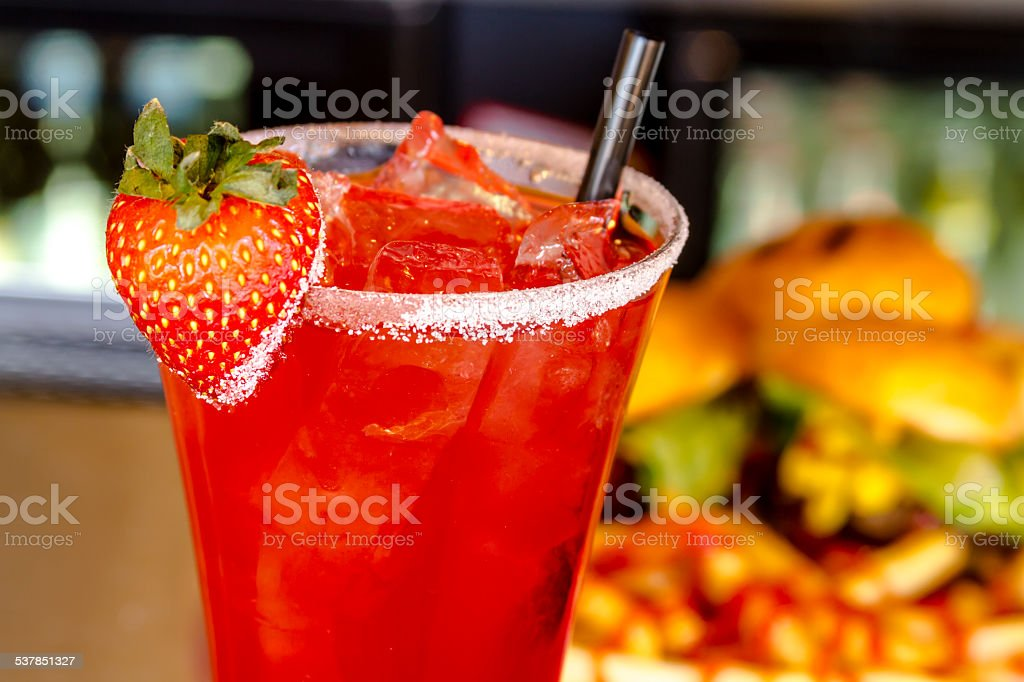 Local Tavern Bar and Grill Food stock photo