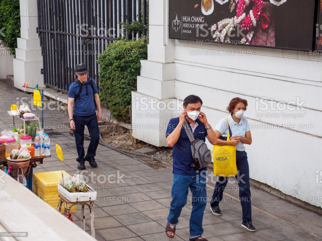 Ratchathewi Face Stock P95 Thailand Local Wears Masks Bangkok