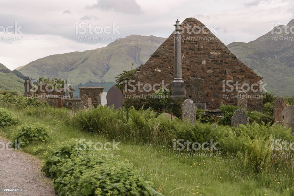 loch alsh landscape stock photo