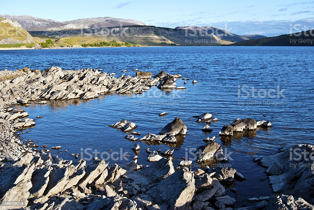 Loch Assynt royalty-free stock photo