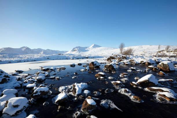 Loch Ba, Rannoch Moor, Scottish Highlands, Scotland, UK stock photo
