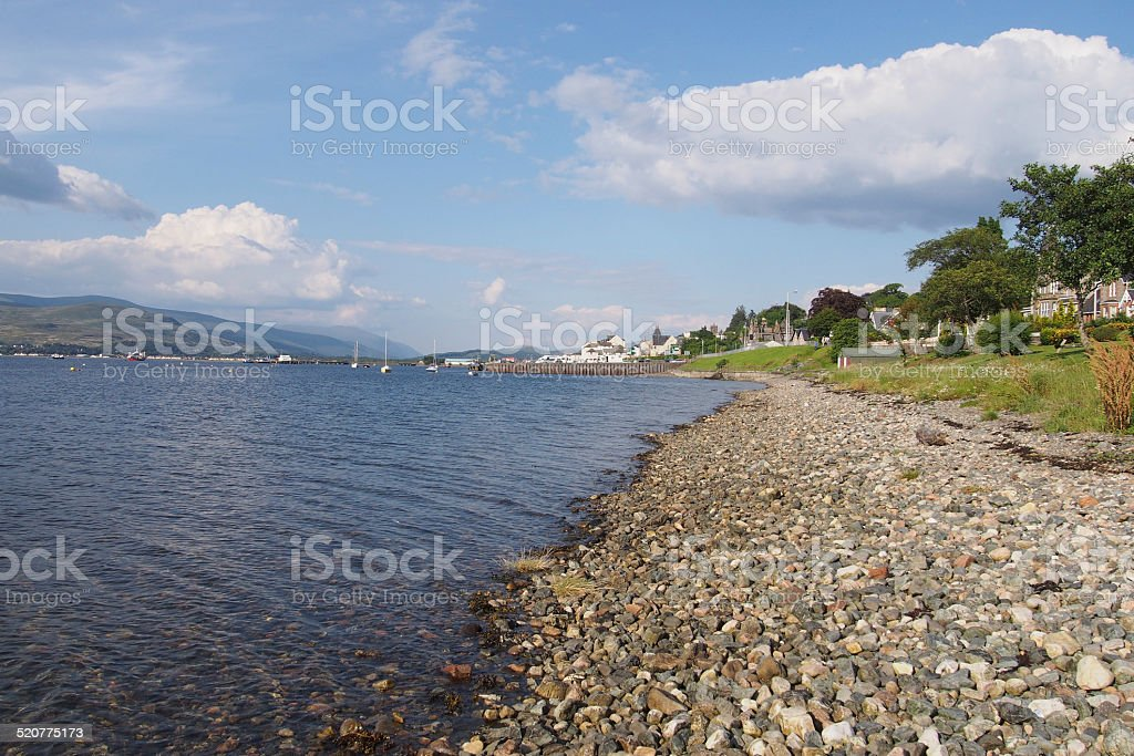 Loch Eil stock photo