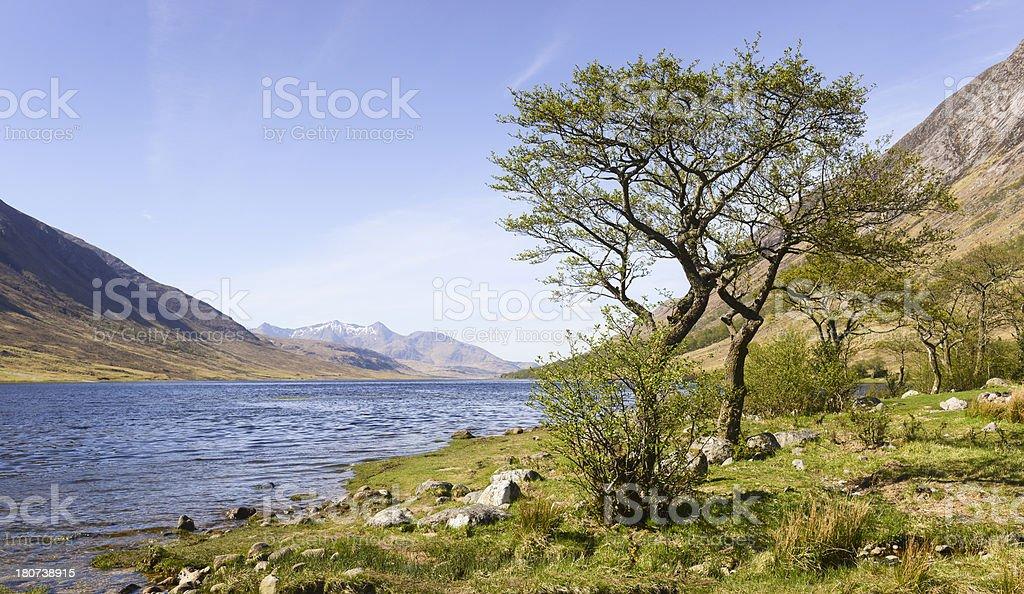 Loch Etive Scotland royalty-free stock photo