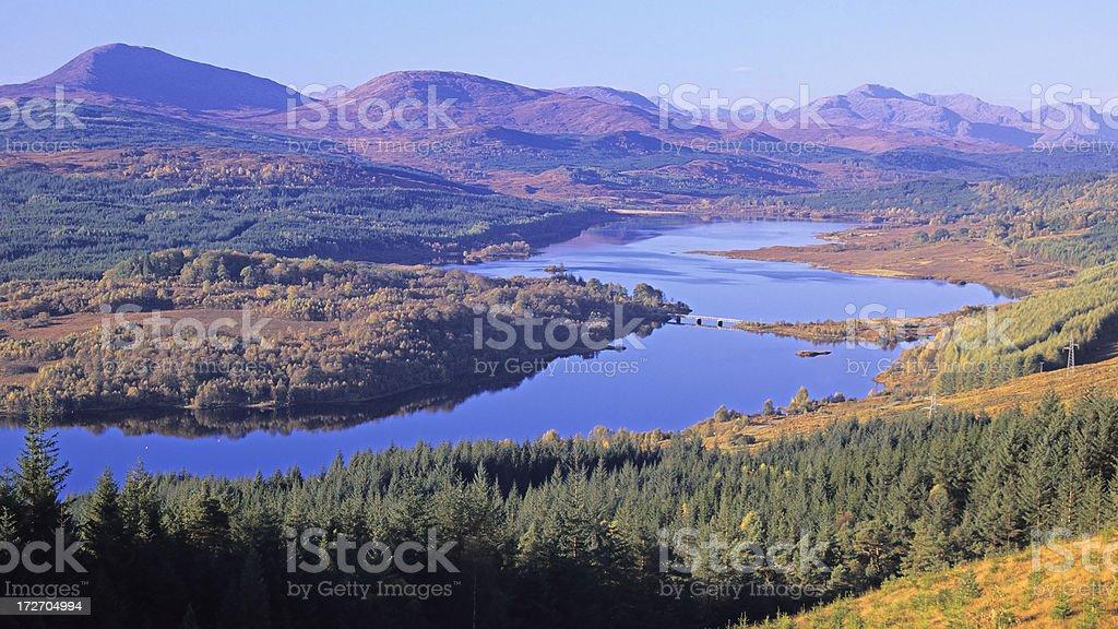 Loch Garry royalty-free stock photo