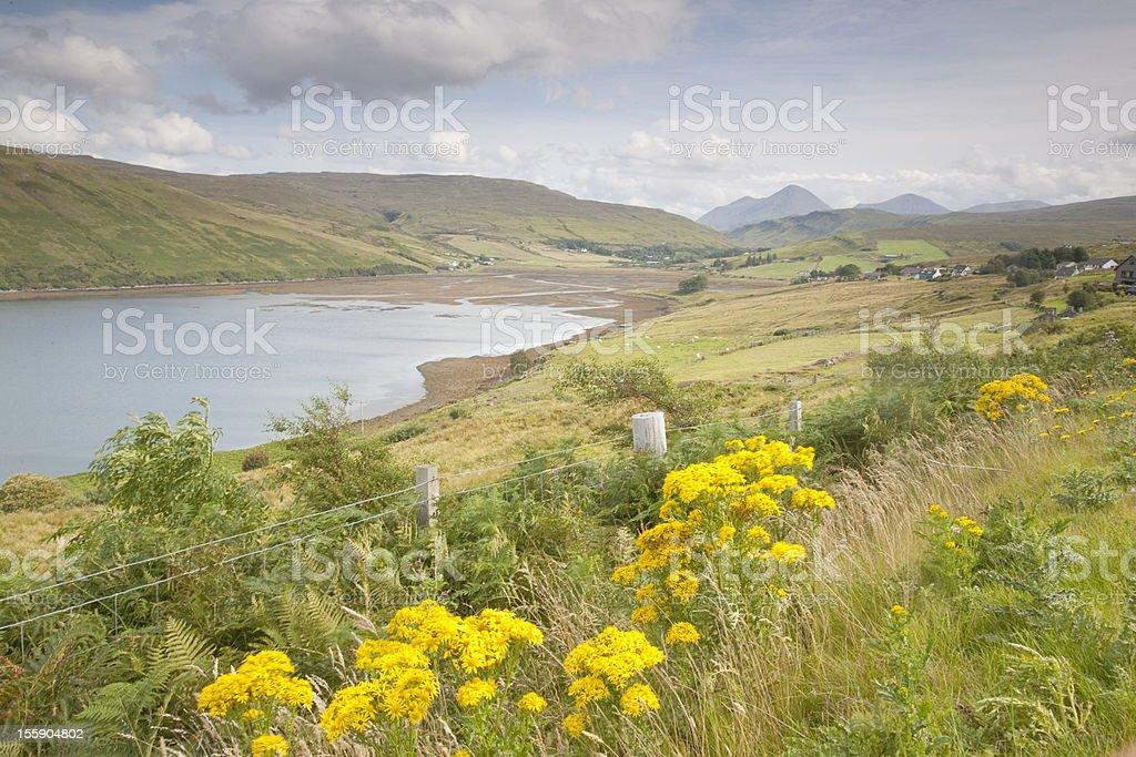 Loch Harport, Isle of Skye stock photo