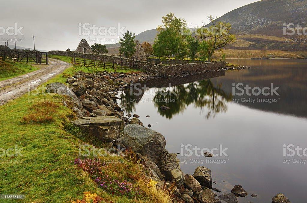 Loch Lee royalty-free stock photo