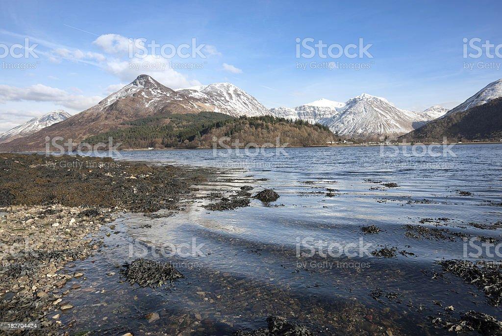 Loch Leven - Glencoe royalty-free stock photo