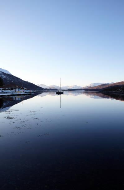 Loch Leven, Glencoe, Scottish Highlands, Scotland, UK stock photo