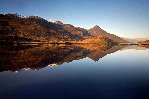 see loch leven highlands - see loch leven stock-fotos und bilder