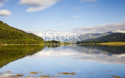 istock Loch Leven in Scotland 1256731472