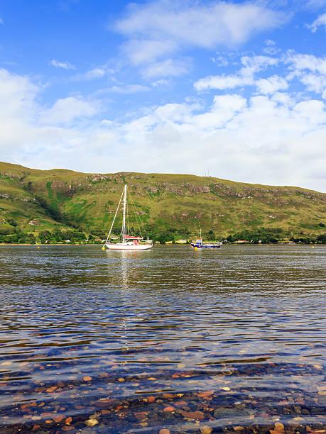 Loch Linnhe stock photo