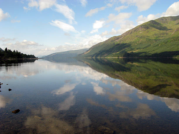 Loch Lochy stock photo